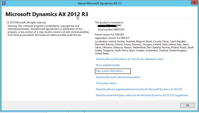 AX 2012 | hello Dynamics AX